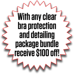 With Any Clear Bra Protection And Detailing Package Bundle Rece