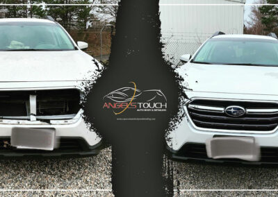 Bourne Collision Repair Before & After (Outback) Version 1 Angels Touch