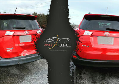 Bourne Collision Repair Before & After (Rav4) Version 1 Angels Touch
