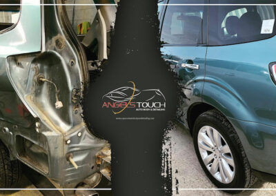 Bourne Collision Repair Before & After (Subaru) Version 1 Angels Touch